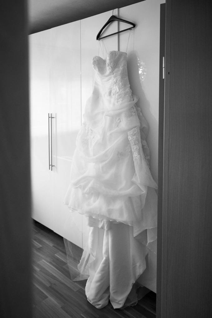 Getting Ready der Braut bei unserer eigenen Hochzeit Bild 11