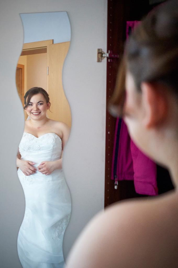 Getting Ready der Braut bei unserer eigenen Hochzeit Bild 13