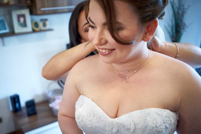 Getting Ready der Braut bei unserer eigenen Hochzeit Bild 18