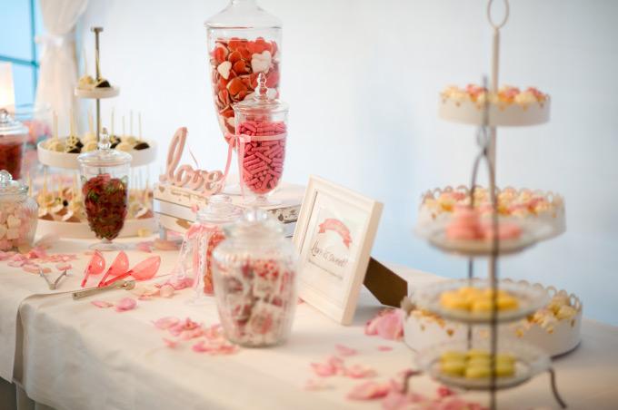Candybar /Sweet Table auf unserer Hochzeit Bild 3