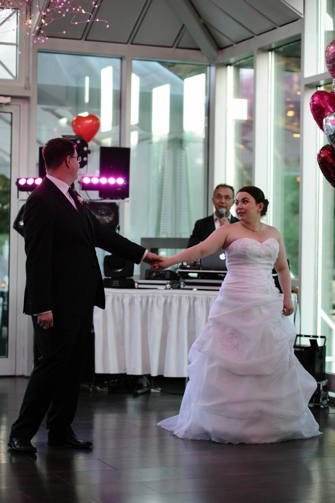 Der Eröffnungstanz bei unserer Hochzeit / Hochzeitsfeier