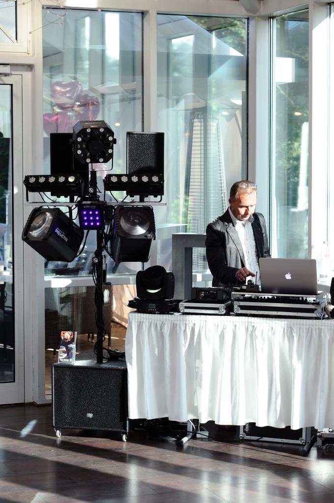 Der DJ bei unserer Hochzeit
