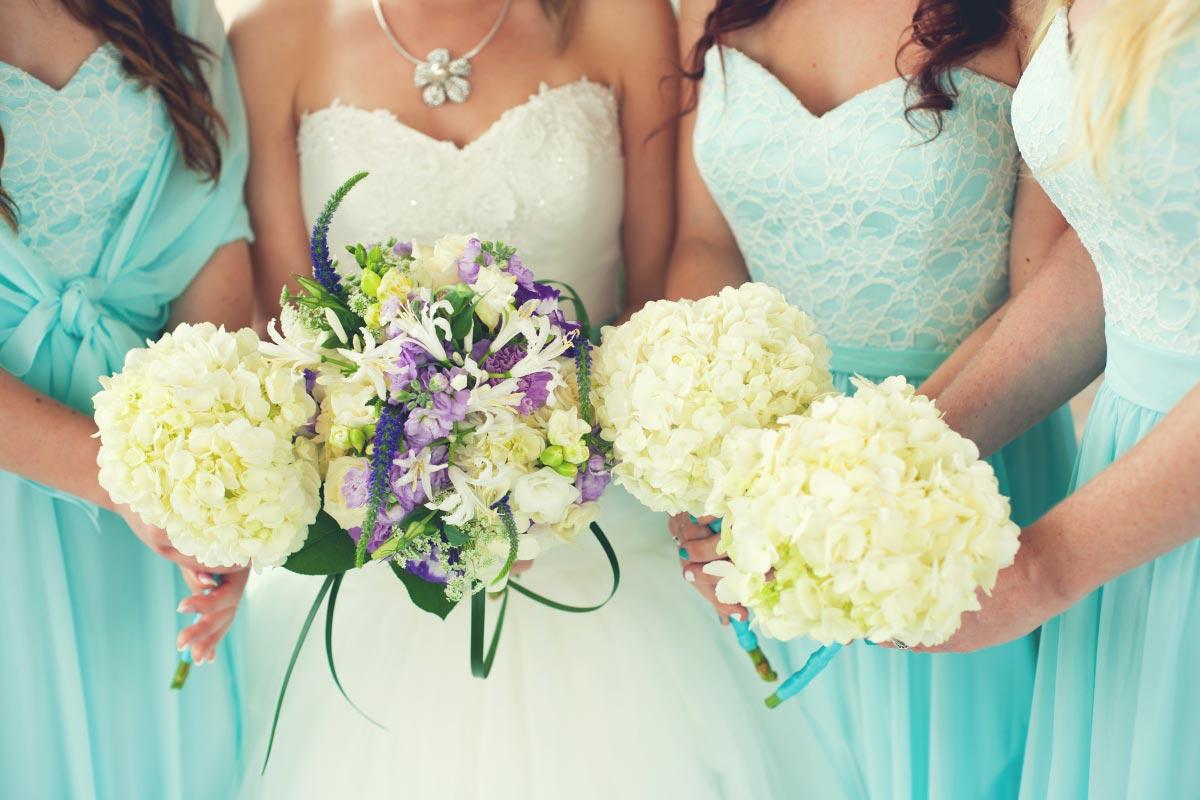 35 Beispiele wie die Kleider der Brautjungfern aussehen könnten