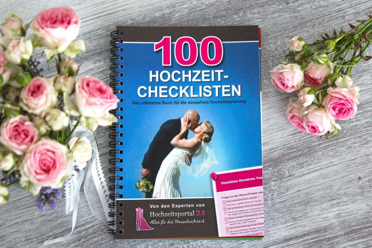 Buchtipp: 100 Hochzeit-Checklisten - Das Hochzeitsbuch