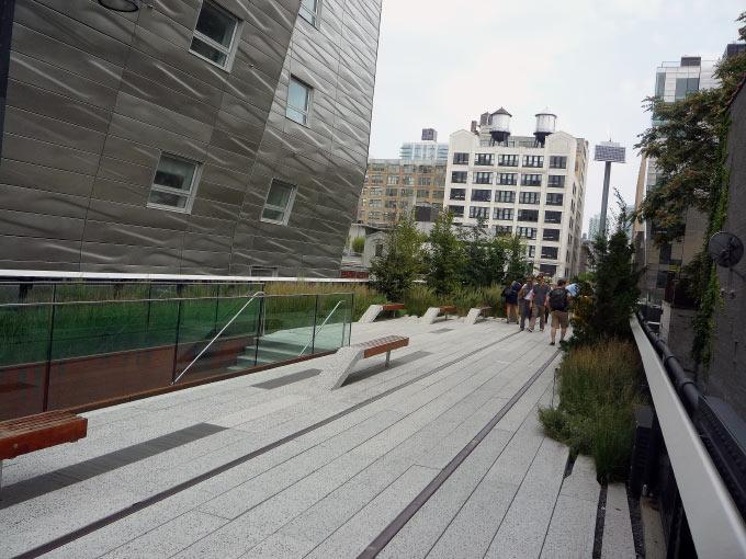 The Highline Park in New York City Bild 2