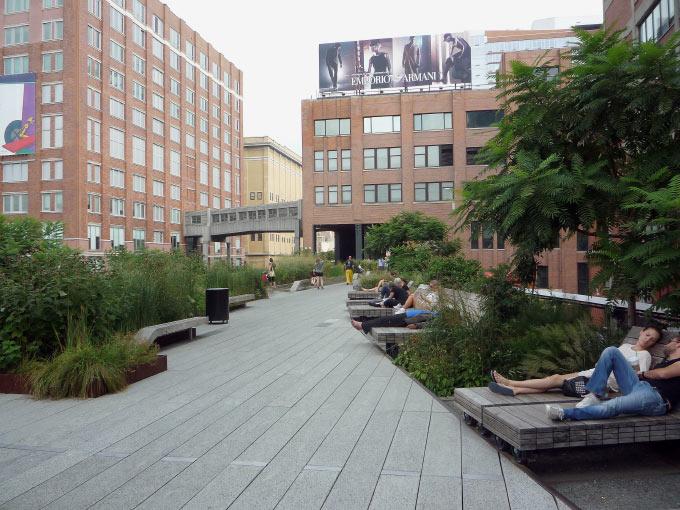 The Highline Park in New York City Bild 3