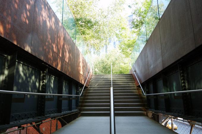 The Highline Park in New York City