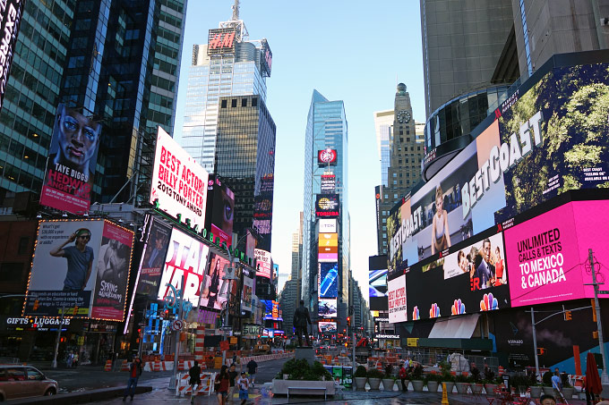 Times Square Broadway in New York Bild 2