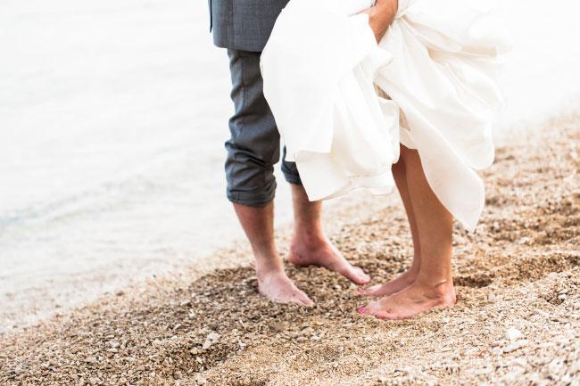 Eine standesamtliche Hochzeit am Strand direkt am Meer Bild 2