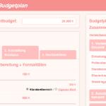Online Budgetplaner für die Hochzeit
