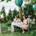 """""""Tea-Time"""" Bridal Shower / Braut-Party"""