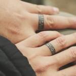 Hochzeits-Tattoo anstatt Hochzeitstring