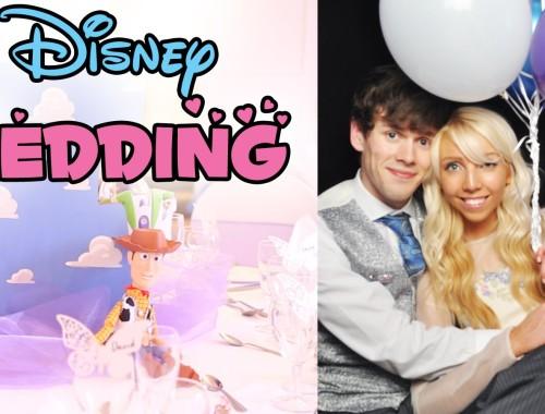 Wenn die Braut Disney über alles liebt...
