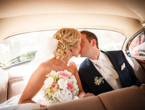 Die kirchliche Hochzeit von Kornelia und Daniel