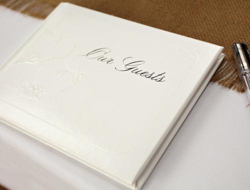 Gästebuch für Hochzeit selbst gestalten