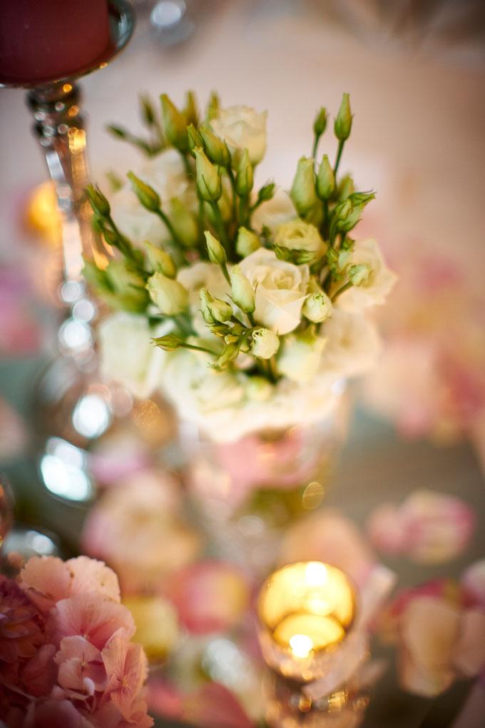 Tischdekoration für die Hochzeit selber gestalten Bild4