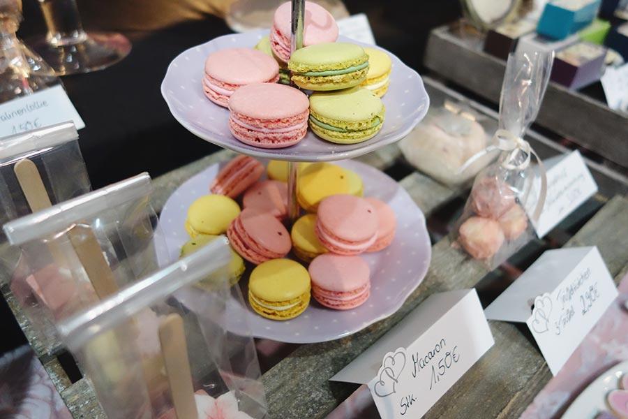 Die Hochzeitsmesse Hochzeitstage in Dortmund - Macarons von Pralinen meiner Stadt