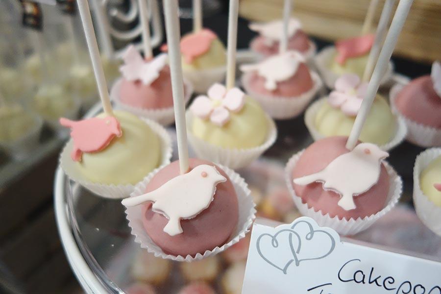 Die Hochzeitsmesse Hochzeitstage in Dortmund - Cakepops von Pralinen meiner Stadt