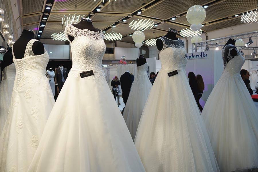 Die Hochzeitsmesse Hochzeitstage in Dortmund Brautkleider