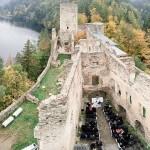 Eine Hochzeit in der Burgrunie Dobra