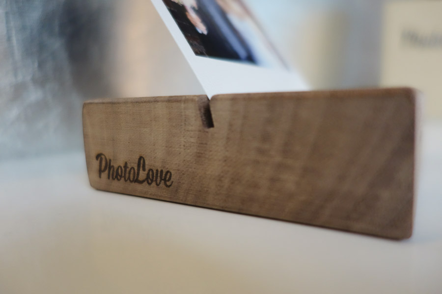 Fotos der Hochzeit als Polaroids für das Regal mit dem Photolove Photoblock Bild 2