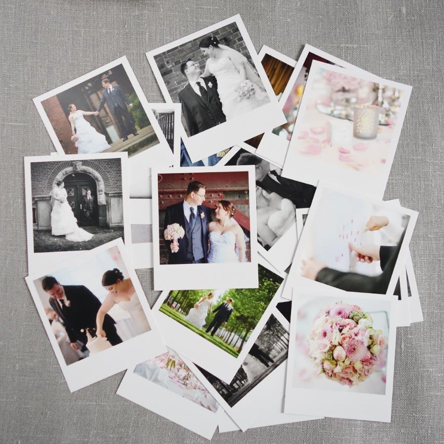 Fotos der Hochzeit als Polaroid von PhotoLove - Alle Polaroids