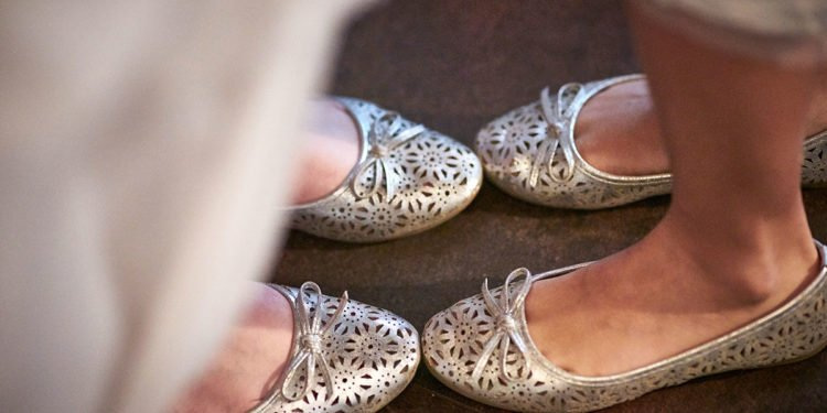 Ballerinas für die Hochzeit bei Amazon