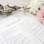 Das Hochzeits-ABC für die Hochzeitsgäste
