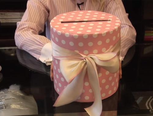 Eine Kartenbox für die Hochzeit selber basteln
