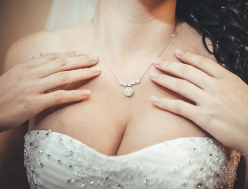 Günstiger aber trotzdem hübscher Schmuck für die Braut