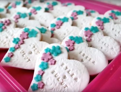 Herz-Kekse für die Hochzeit / Candybar backen