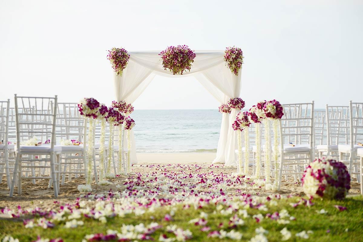 Eine Standesamtliche Hochzeit Am Strand Direkt Am Meer
