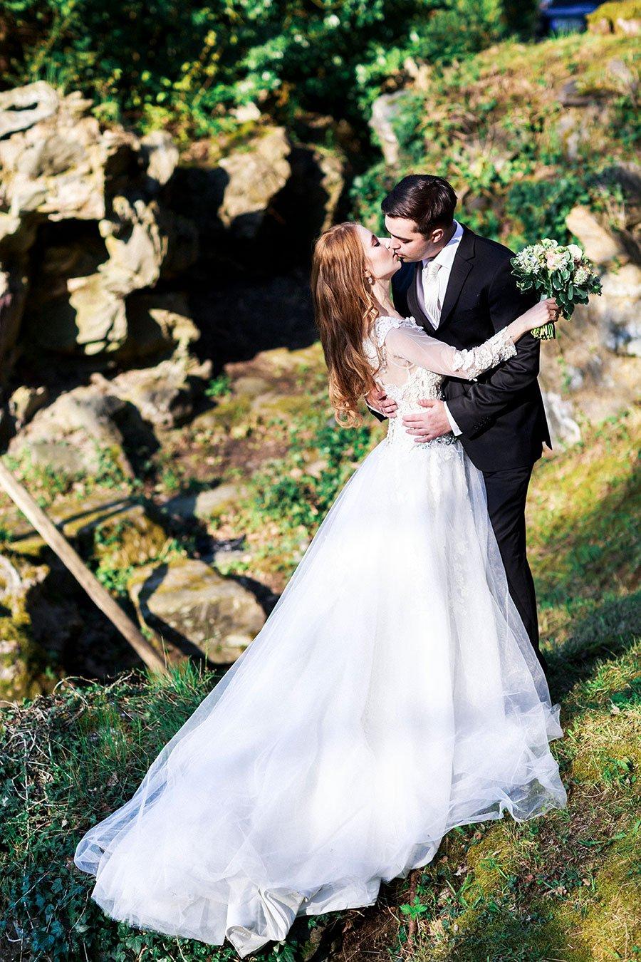 Brautpaar beim After-Wedding-Shooting zum ersten Hochzeitstag
