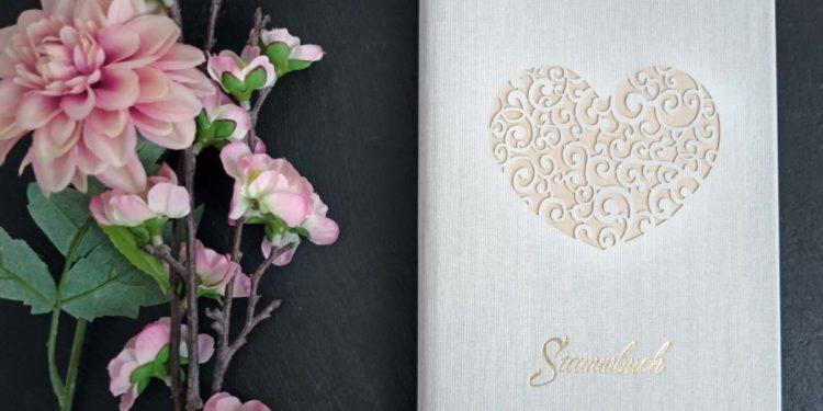 Stammbuch zur Hochzeit: Hübsch & günstig bei Amazon