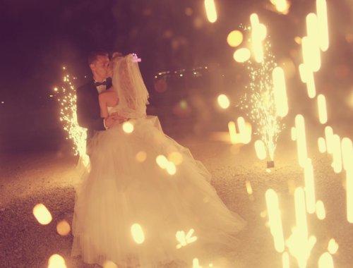 Feuerwerk bei der Hochzeit: Das müsst ihr wissen!