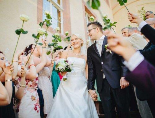 Romantische Hochzeit von Julia & Martin im Schloss Wolkenburg
