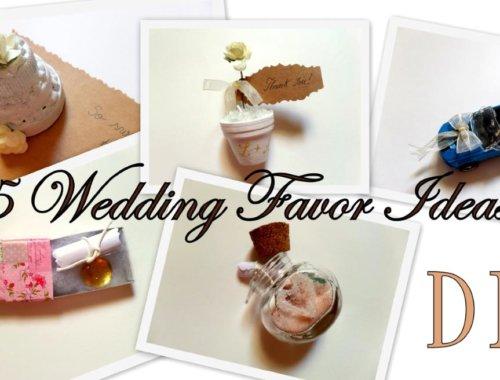 Video: 5 Ideen für Gastgeschenke zur Hochzeit zum selber Basteln