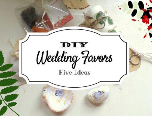 Weitere 5 Ideen für Geschenke an eure Gäste zur Hochzeit zum selber Basteln