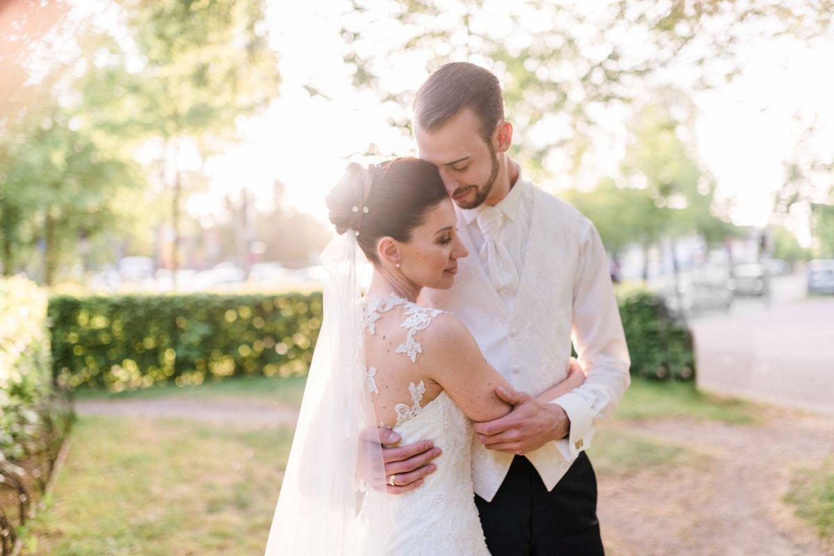 Die kirchliche Hochzeit im kleinen Kreis mit Irena und Lars