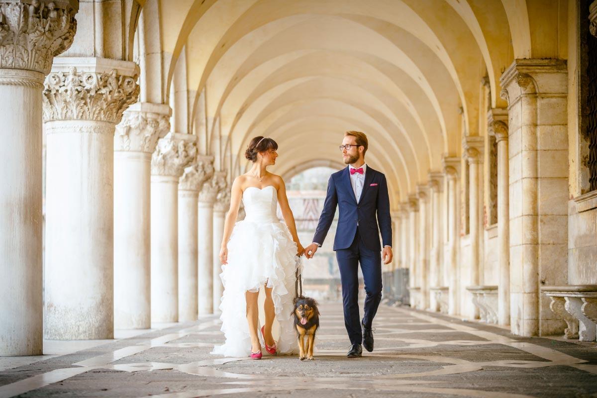 Ein After-Wedding-Shooting in Venedig