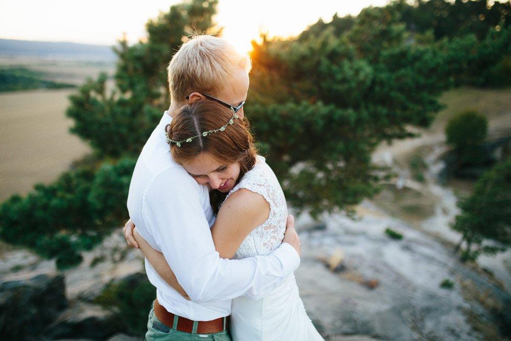 Braut-Fotoshooting im Harz
