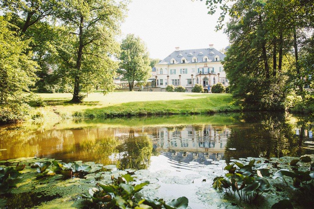 Das Schloss Wolfsbrunn – perfekt für eine romantische Hochzeit