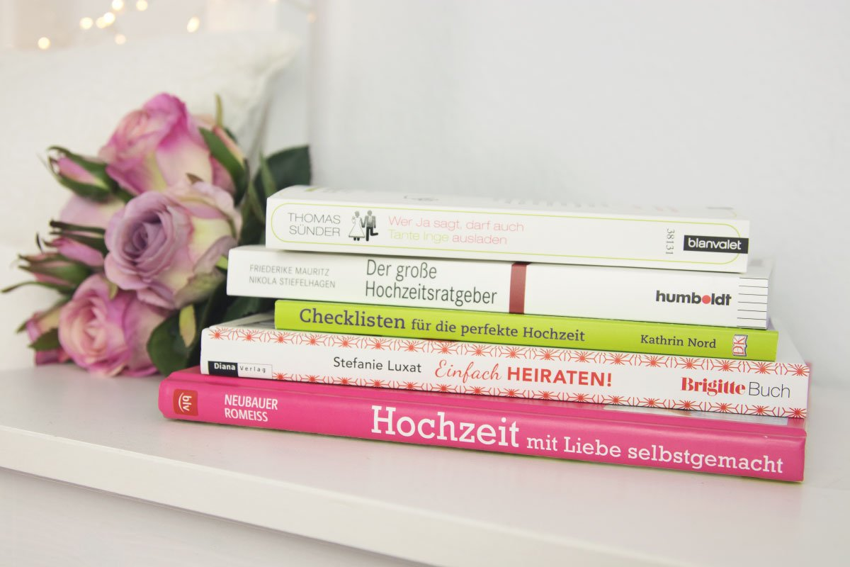 Bücher rund um die Hochzeit: Ratgeber, DIY-Anleitungen & Inspiration