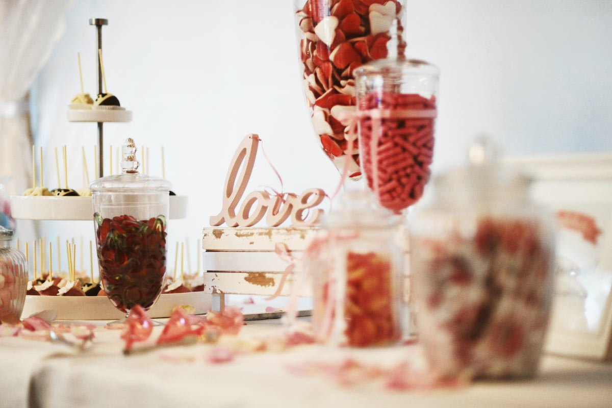 Candybar bei der Hochzeit: Finde hier alles was du dafür benötigst