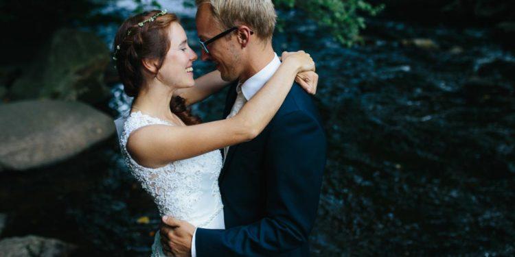 Ein After-Wedding-Shooting nach einer verregneten Hochzeit im Vorjahr