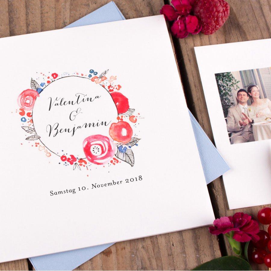 Modell Blütezeit von Rosemood - Hochzeitspapeterie mit Liebe gemacht