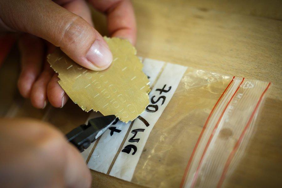 Ringe für die Hochzeit selber schmieden - Material zum Verlöten