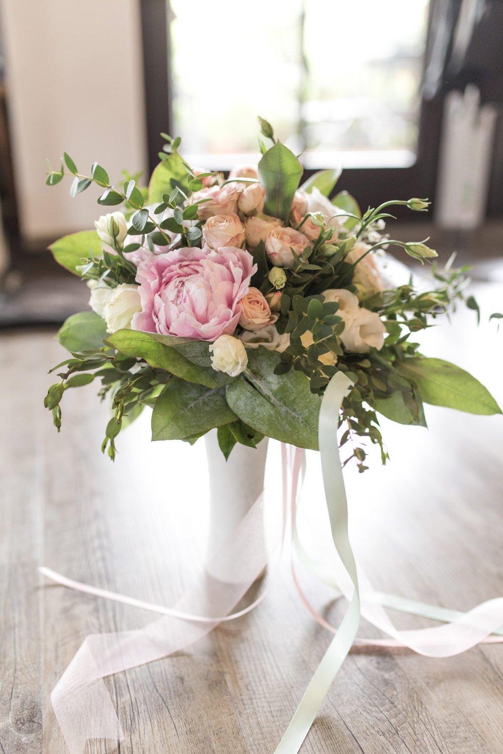 Brautstrauß – Vintage in Pastelltönen: Die Hochzeit von Jennifer & Philipp