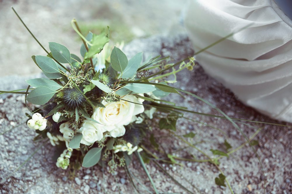 Bavarian tradition presented in a modern way - The bridal bouquet