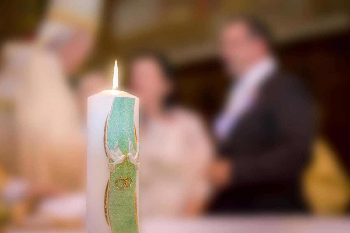 Hochzeitskerzen: Beispiele für personalisierte Kerzen zur Hochzeit